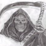Imágenes de la santa muerte para tatuar (11)