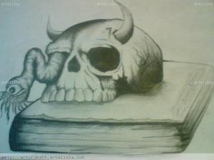 imagenes de la santa muerte a lapiz (5)