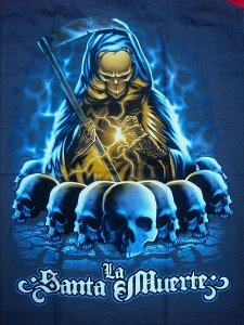 imagenes de la santa muerte dorada (1)