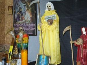 imagenes de la santa muerte dorada (2)