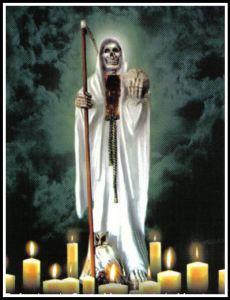 imagenes de la santa muerte en dibujo (3)