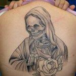 imagenes de la santa muerte tatuajes (27)