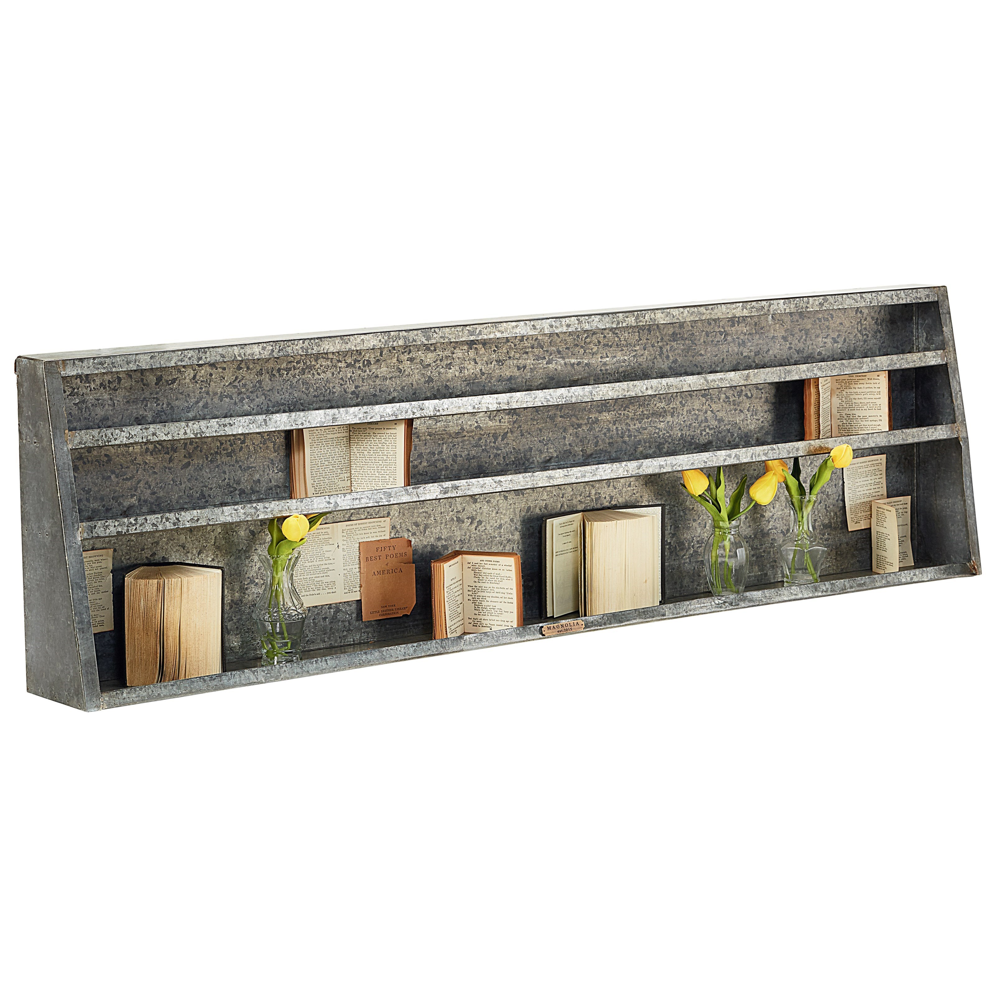 Fullsize Of Metal Wall Shelf