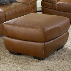 Small Of Leather Plantation Chair And Ottoman