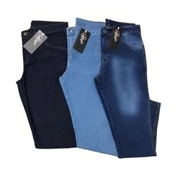 Kit 3 Calças Jeans Masculina C/ Lycra