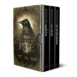 Box - Edgar Allan Poe - Histórias Extraordinárias - 3 Volumes - Acompanha Pôster