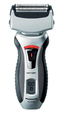 Panasonic ES-RT81 - Afeitadora eléctrica (3 niveles, húmedo y seco), color gris y plateado