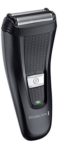 Remington Comfort Series - Afeitadora de láminas flexibles, doble lámina, inalámbrica, indicador LED