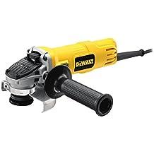 DeWalt DWE4056-QS - Mini-amoladora 115mm 800W 11.800 rpm Arranque Suave + Bloqueo y re-arranque