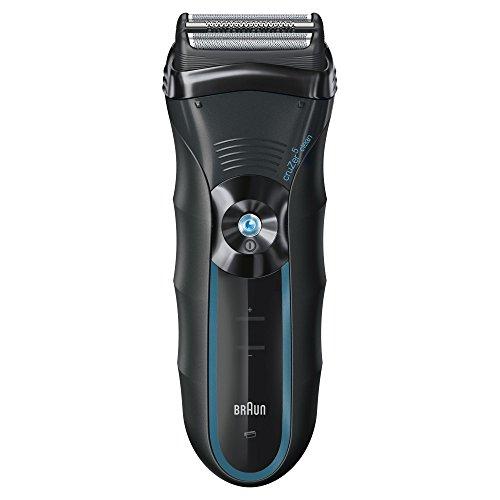 Braun cruZer5 Clean Shave - Afeitadora eléctrica con recortadora de precisión, color negro