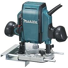 Makita RP0900 - Fresadora De Superficie 900W 27000 Rpm Pinza 8 Mm 2.7 Kg