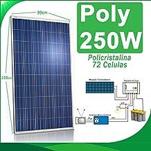 Placa solar 250w panel solar Fotovoltaico 24v
