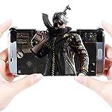 【荒野行動】 ゲームパッド コントローラー 高耐久ボタン PUBG ios/iPhone/Android 2個入り 感応式射撃 射撃用ボタン 高速射撃可能