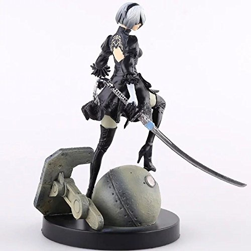 galigeigei Nier : Automata Yorha 2号タイプB、2b PVC Collectible Figure , Statue 6