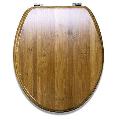 木製 トイレ 便座 蓋 おしゃれ かわいい 【MGC JAPAN TRADE】 (ブラウン)