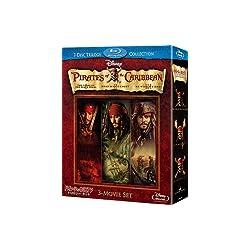 パイレーツ・オブ・カリビアン/ブルーレイ・トリロジー・セット (数量限定) [Blu-ray]
