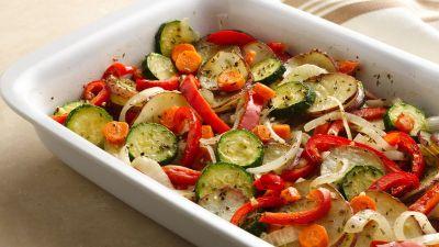 Mixed Vegetable Bake Recipe - BettyCrocker.com