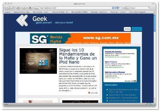 Geek.com.mx (Spanish Edition)