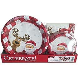 Christmas Decoration Inspiration | Christmas Dinner Plates
