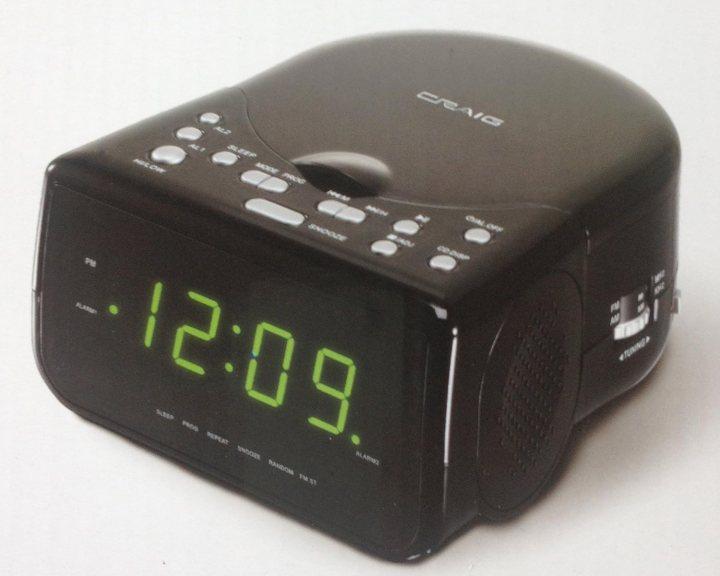 Craig Folding Travel Alarm Clock Instructions Anexa Creancy