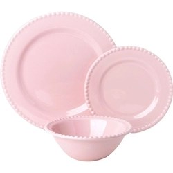 Aparelho De Jantar Poá 18 Peças Rosa - La Cuisine