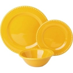 Aparelho De Jantar Poá 18 Peças Amarelo - La Cuisine
