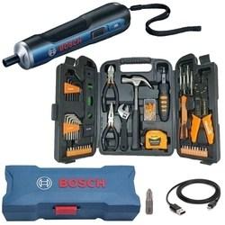 Parafusadeira Bateria 3,6V BOSCH GO BIVOLT + Kit Ferramentas 129 Peças SPARTA