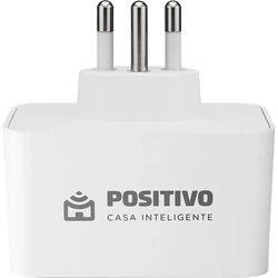 Smart Plug Wi-Fi 10A/1000W Positivo Casa Inteligente - Branco