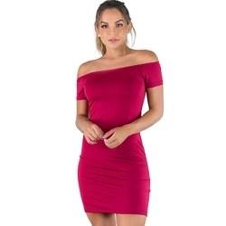 Kit 4 Vestido Feminino Curto Festa Ombro A Ombro Suplex Mvb Modas