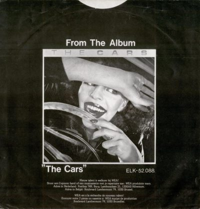 45cat - The Cars - My Best Friend's Girl / Moving In Stereo - Elektra - Netherlands - ELK 12.301