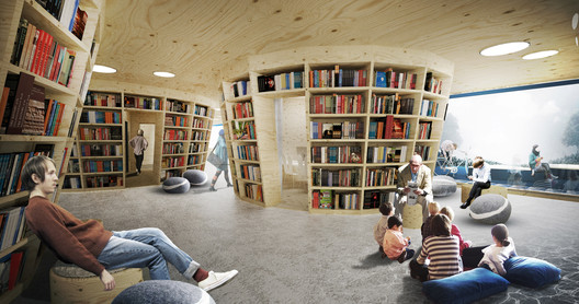 Culture Island: Public Library Proposal / UGO Architecture ...