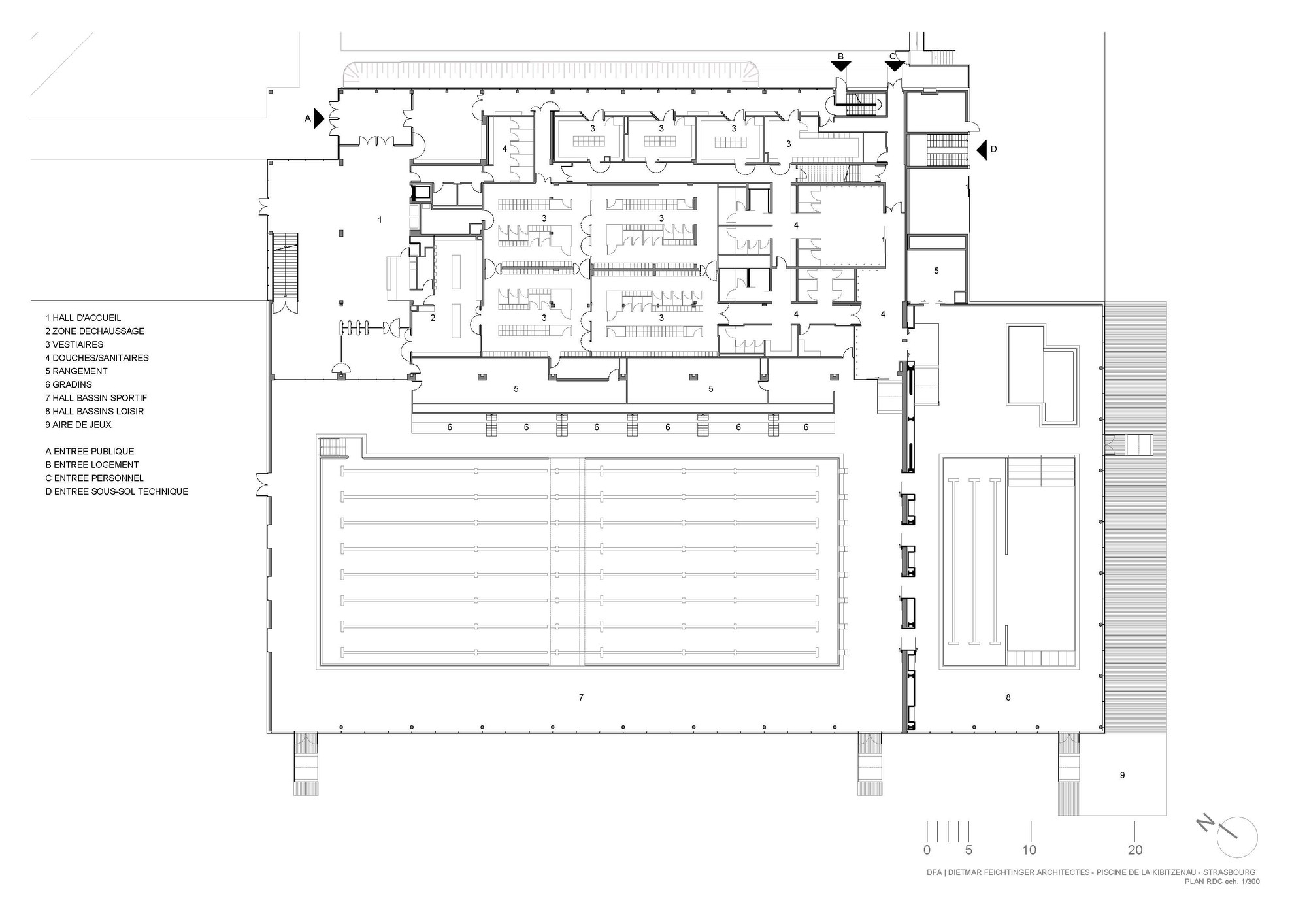 modren olympic swimming pool diagram ground floor plan on design ideas