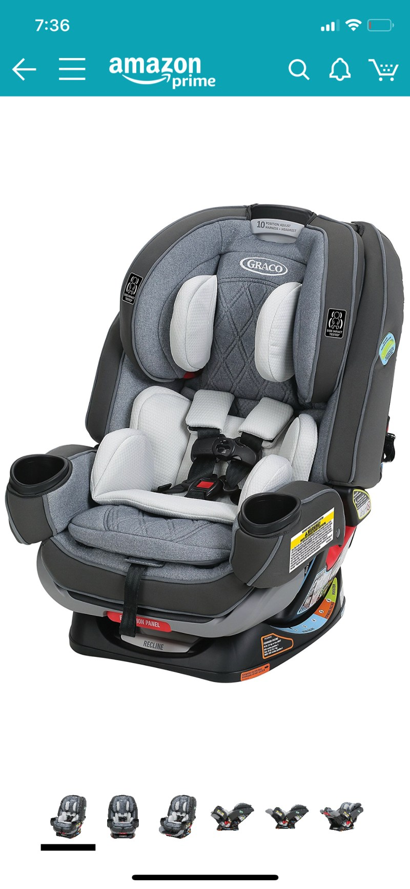 Large Of Graco 4ever Car Seat