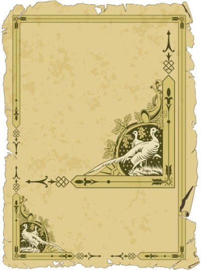 Old classic pattern with border 03 vector Free vector in Encapsulated PostScript eps ( .eps ...