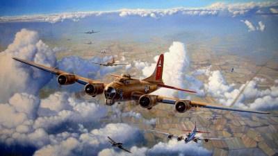 64 Boeing B-17 Flying Fortress HD Wallpapers | Background Images - Wallpaper Abyss - Page 2