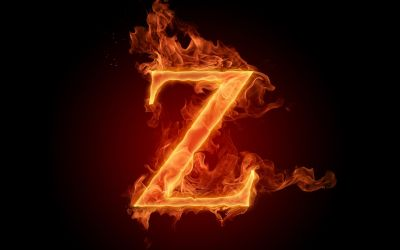 flaming z HD Wallpaper | Background Image | 1920x1200 | ID ...