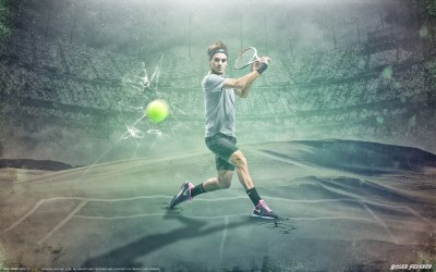 5 Roger Federer HD Wallpapers | Backgrounds - Wallpaper Abyss