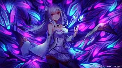 Emilia-Tan HD Wallpaper | Background Image | 1920x1080 | ID:710328 - Wallpaper Abyss