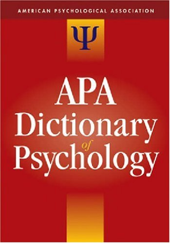 Print Reference Books - Psychology Subject Research Guide ...