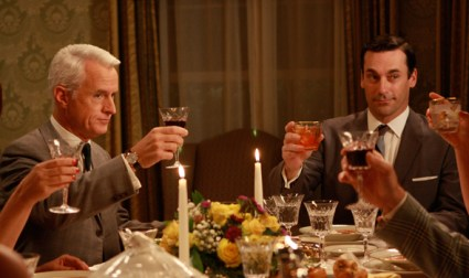 Dinner Party on Mad Men