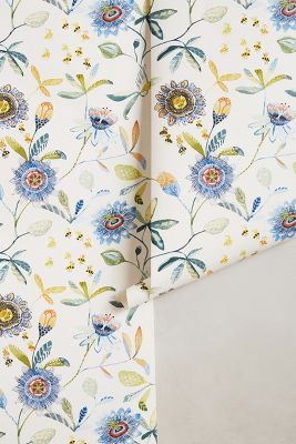 Garden Buzz Wallpaper | Anthropologie