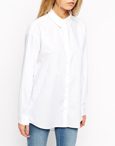 ASOS Smart Boyfriend White Shirt