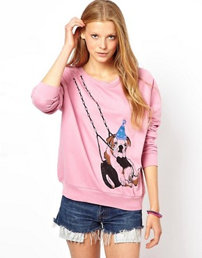 Image 1 of Brat & Suzie Swing Dog Sweat Top