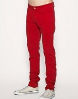 Monkee Genes Red Skinny Jeans