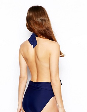 ASOS Plunge Backless Suit