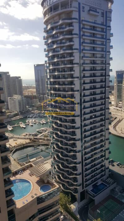 Close to the metro 2 br with marina view in the waves tower... | Bayut.com