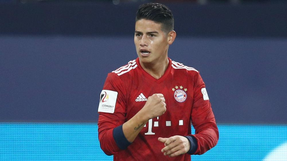 Image result for james rodriguez bayern munich schalke 04