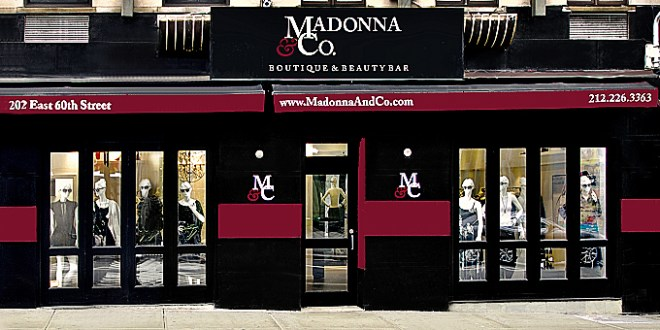 Boutique & Beauty Bar, madonnaandco, shopping, nyc