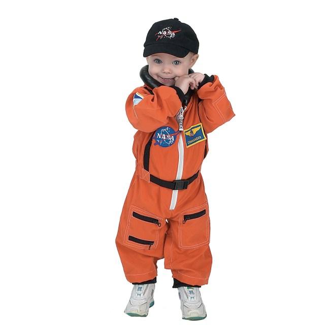 NASA Jr. Astronaut Suit Orange Toddler Costume