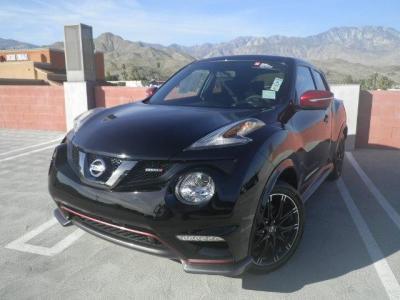 D 2017 Nissan Juke NISMO AWD Gasoline Black Automatic Hatchback 4 Door